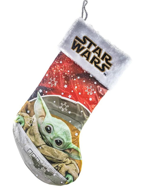 Star Wars Baby Yoda Printed Stocking