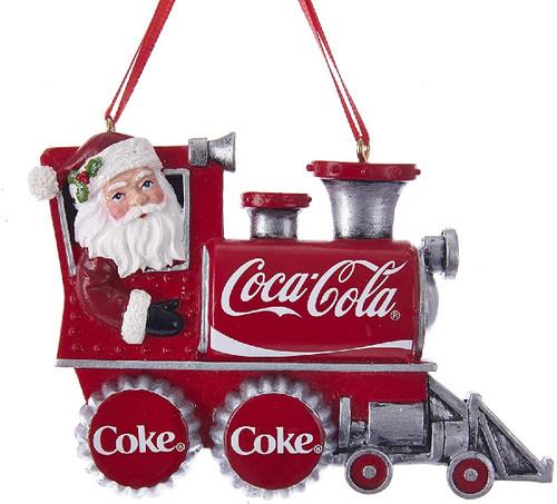 Coca- Cola Santa Train Ornament