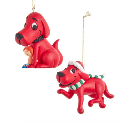 Clifford the Big Red Dog Ornaments