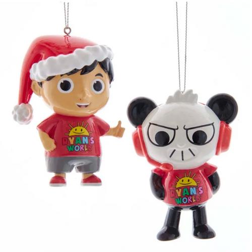 Ryan's World Blow Mold Ornaments
