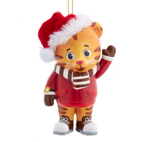 Daniel Tiger Santa Hat Ornament