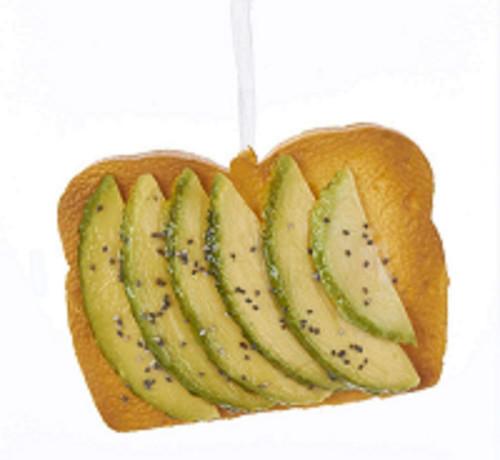 Avocado Toast Ornament Kurt Adler