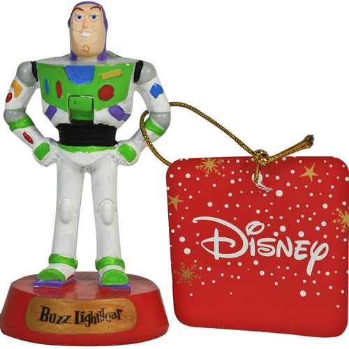 Buzz Lightyear Mini Nutcracker Decoration