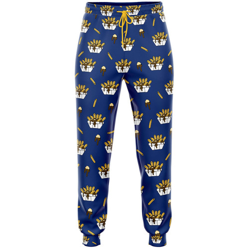 Poutine Pajama Pants by Main And Local