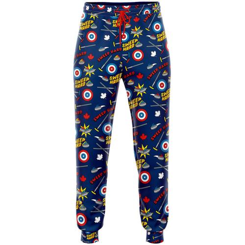Curling Pajama Pants
