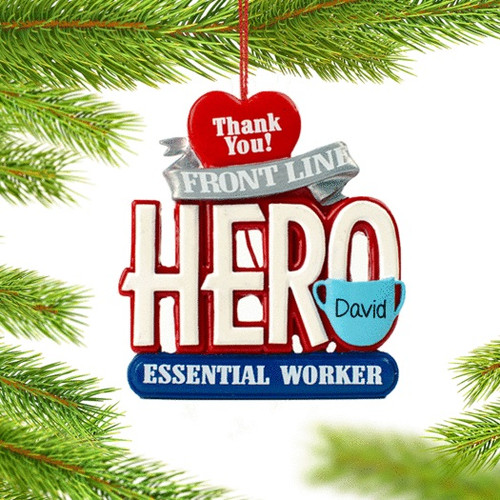 Essential Worker Personalized Ornament
