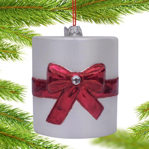 Toilet Paper Glass Ornament by Noble Gems