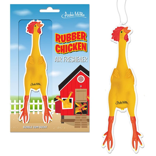 12808 Rubber Chicken Air Freshener