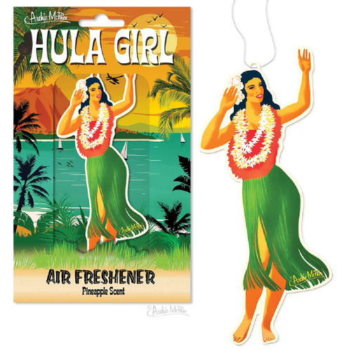 12892 Hula Girl Air Freshener