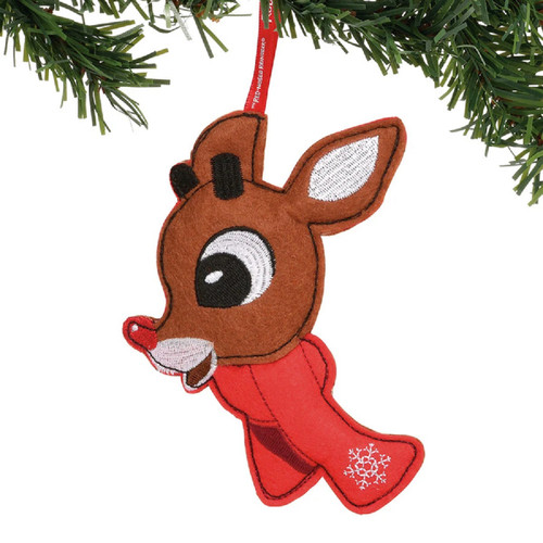 Rudolph Hanging Felt Ornament