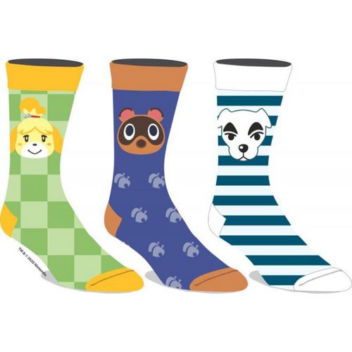Animal Crossing Men's Crew Socks
