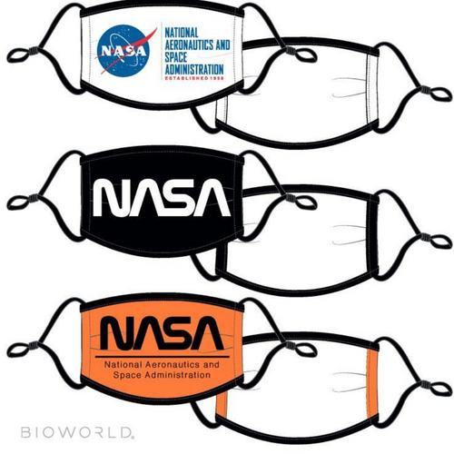 NASA 3-Pack of Face Masks