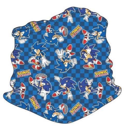 SEGA Sonic Checkered Youth Gaiter