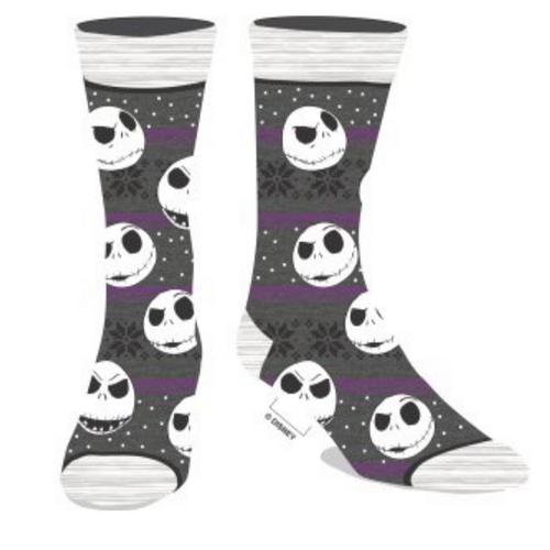 Nightmare Before Christmas Holiday Fair Isle Socks