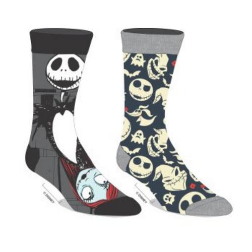 Nightmare Before Christmas Two Pair Sock Pack