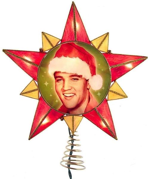 Elvis Presley Capiz-Style Tree Topper