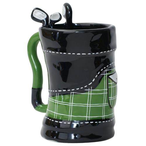 Golf Bag Sculpted Mug 12 oz Sculpted Mug