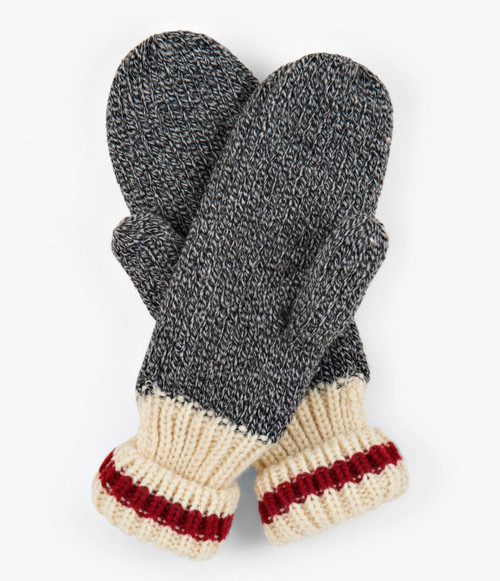 Classic Red Stripe Mittens by Hatley Herritage Collection