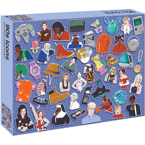 90s Icons 500 Piece Puzzle
