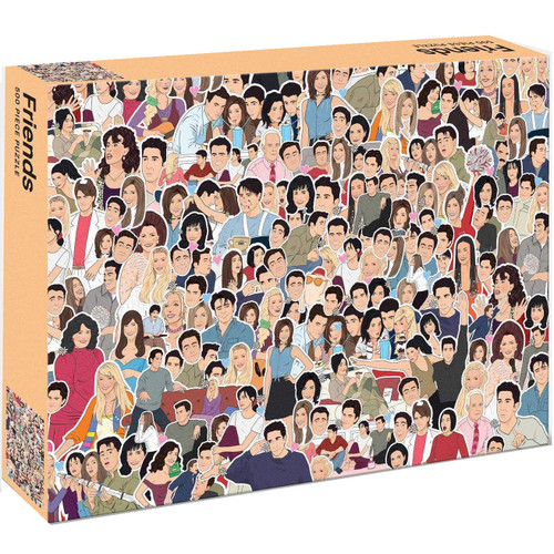Friends Illustrated Jigsaw Puzzle