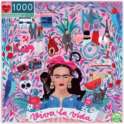 Frida Kahlo Viva La Vida Jigsaw Puzzle