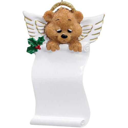 Angel Bear Scroll Personalized