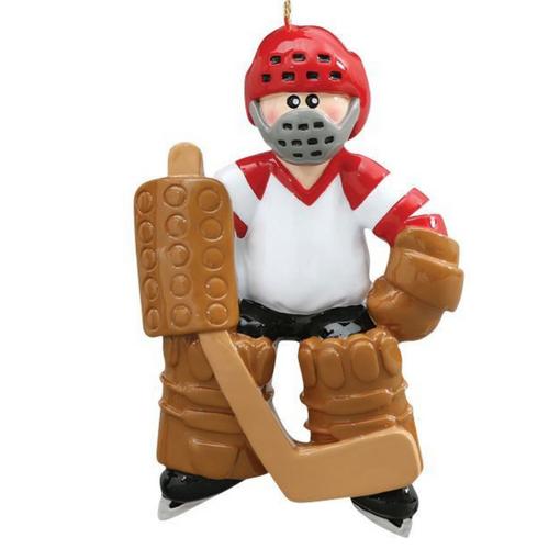 Goalie Christmas Ornament