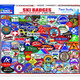 Ski Badges 1000 piece Puzzle by White Mountain