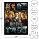 Harry Potter Movies 1000 piece Puzzle