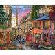 Paris Sunset Jigsaw Puzzle