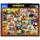 Cowboys (1504PZ) - 1000 Piece Jigsaw Puzzle