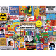 Life in the 60s Jigsaw Puzzle complete