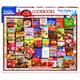Betty Crocker Cookbooks (1358pz) - 1000 Piece Jigsaw Puzzle