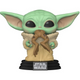 The Mandalorian The Child with Frog Funko Bobblehead