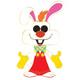 Roger Rabbit Jumbo Enamel Pin by Funko