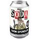 Egon Spengler Ghostbusters Vinyl Soda can