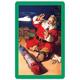 Green Coca-Cola Santa Jumbo Playing Cards
