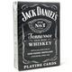 Jack Daniels Playing Card Deck - Black