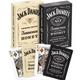 Set of 2 Jack Daniels Playing Card Decks - Black & Honey
