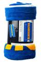 Blockbuster blanket, rolled in package