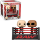 Pop! WWE: The Rock vs Stone Cold in Wrestling Ring Funko Moment