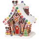 Front - Mickey's Gingerbread House Department 56