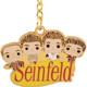 Closeup of Funko Seinfeld Pop Keychain