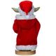 Yoda in Santa Robe Nutcracker - Back View