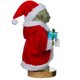 Yoda in Santa Robe Nutcracker - Side View