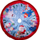 Rudolph and Friends Tree Skirt
