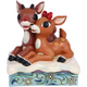 Front - Rudolph and Clarice Figure