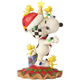 Right - Snoopy Decorated by Woodstocks
