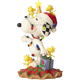 Left - Snoopy Decorated by Woodstocks