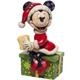 Santa Minnie Hot Chocolate Figure by Jim Shore